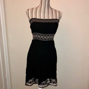 Pinky brand Strapless Black Beach Dress